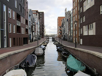 Canal en la Isla de Java (Amsterdam)