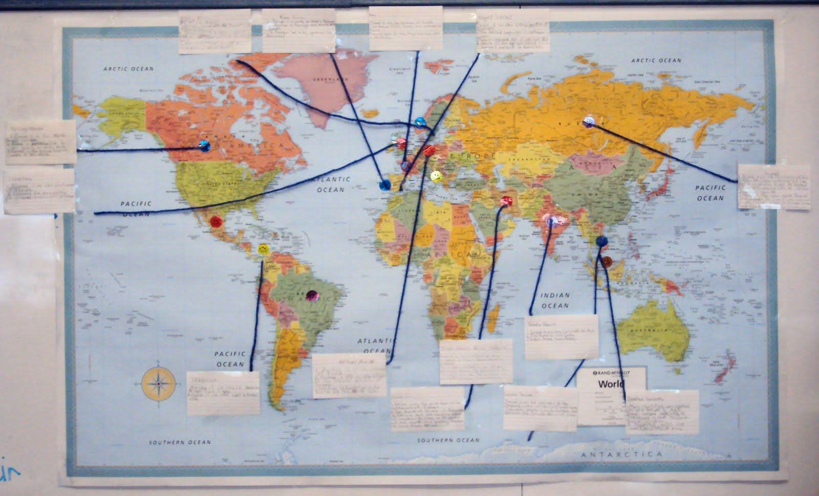 here s the map again the one that identifies where in the world our blog visitors come from perhaps you remember that the kids from ms meadows third