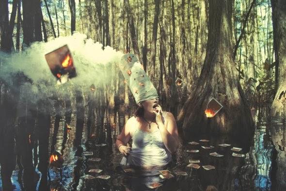 Mishudo deviantart fotografia photoshop surreal onírico autorretratos