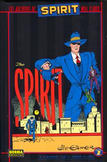 Los archivos de The Spirit 2,Will Eisner,Norma Editorial  tienda de comics en México distrito federal, venta de comics en México df