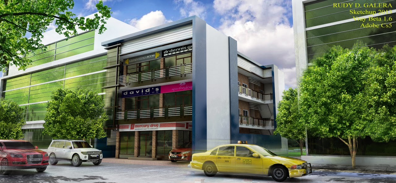 28 Two Storey Commercial Building Design Two Storey