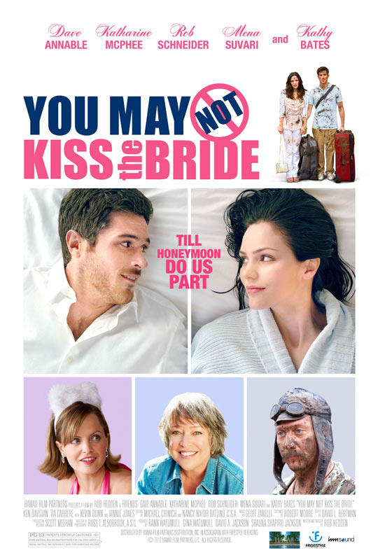 You May Not Kiss the Bride (2012) - Poster