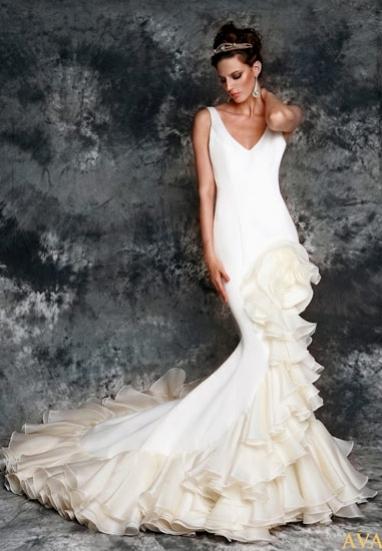 bodas y anillos: vicky martín berrocal: vestidos de novia 2012