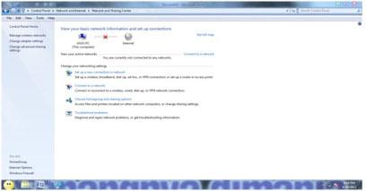 Cara membuat dan Setting Jaringan LAN pada Windows 7
