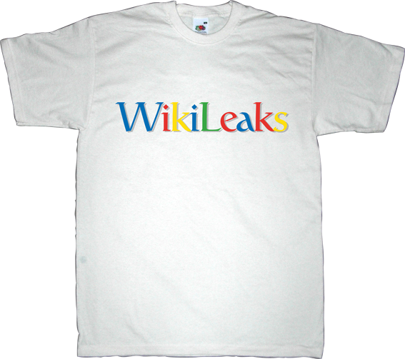 google big brother george orwell Julian Assange wikileaks freedom internet 2.0 t-shirt ephemeral-t-shirts