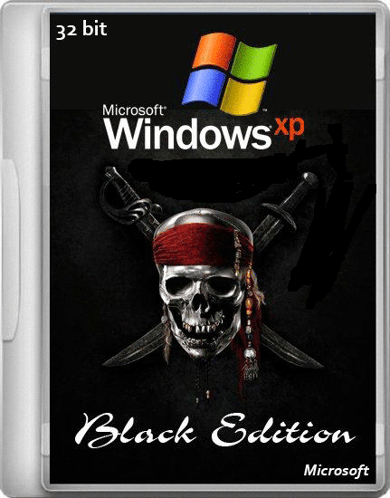 Windows XP Pro SP3 x86 Black Edition 2014 Free Download