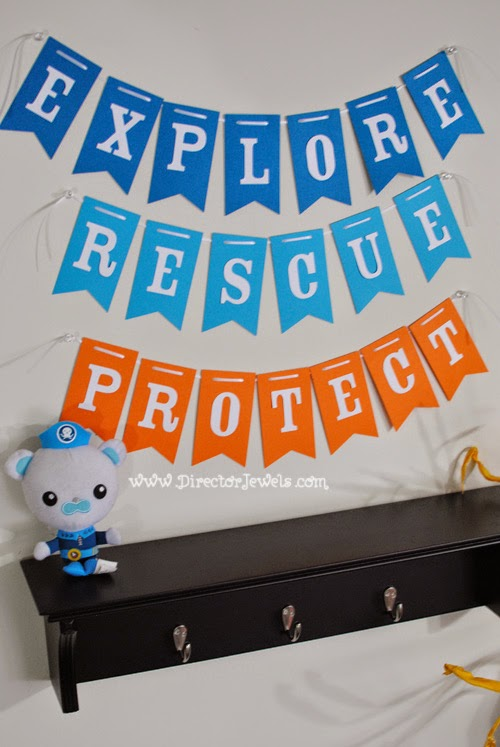 ... Birthday Party Decoration Ideas | Under the Sea Ocean Decor at