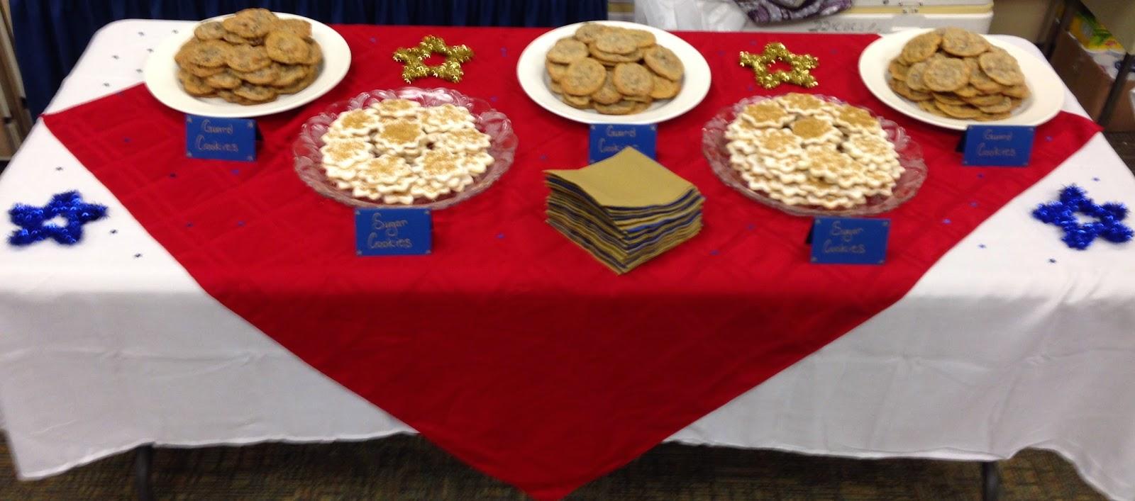 cookie reception