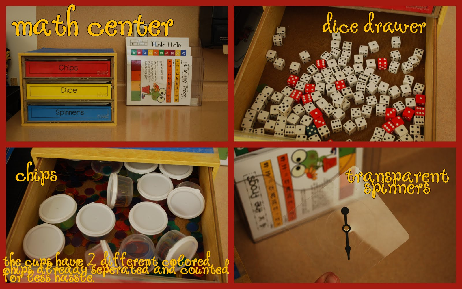 Classroom Center Ideas ~ Get inspired math centers clutter free classroom
