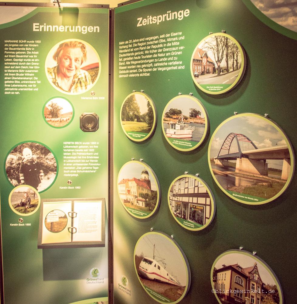 Ausstellung Erlebnis grünes Band