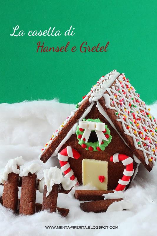 dolci creazioni: la casetta di hansel e gretel