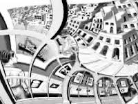 M.C.Escher - Rotazione Infinita