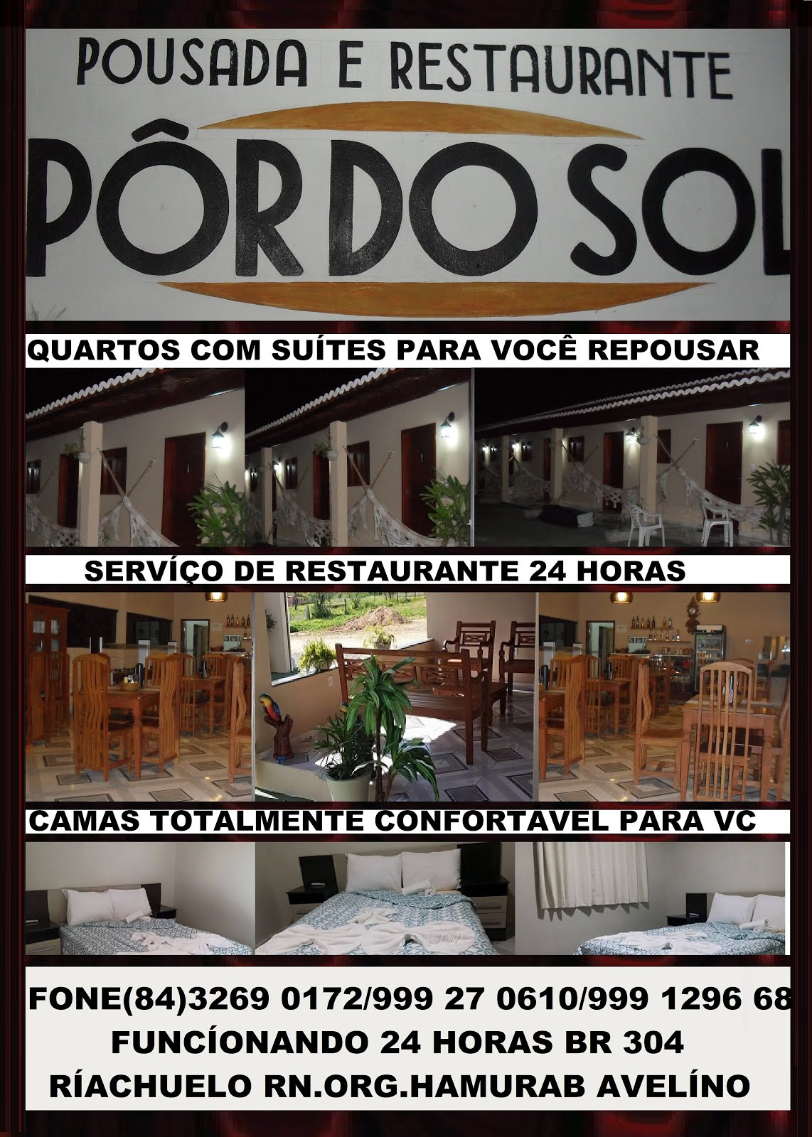 POUSADA E RESTAURANTE POR DO SOL