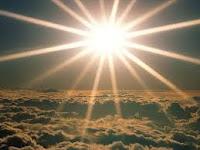 sol brilhando