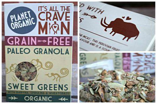 Planet Organic Sweet Greens Müsli