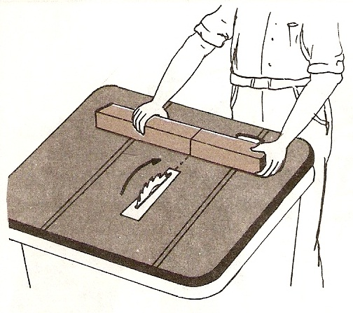 Muebles domoticos como cortar madera al trav s tronzar for Cortar madera con radial