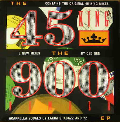 45 King ‎– The 900 Number EP (CD) (1991) (FLAC + 320 kbps)