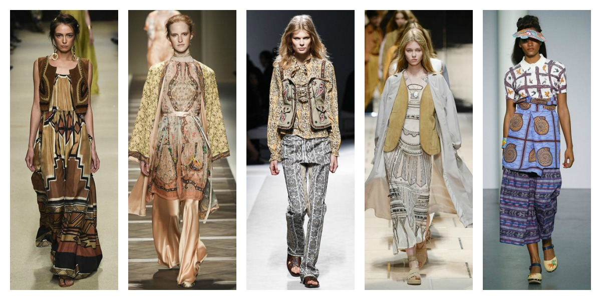 milan fashion week ss16 boho trend report mfw
