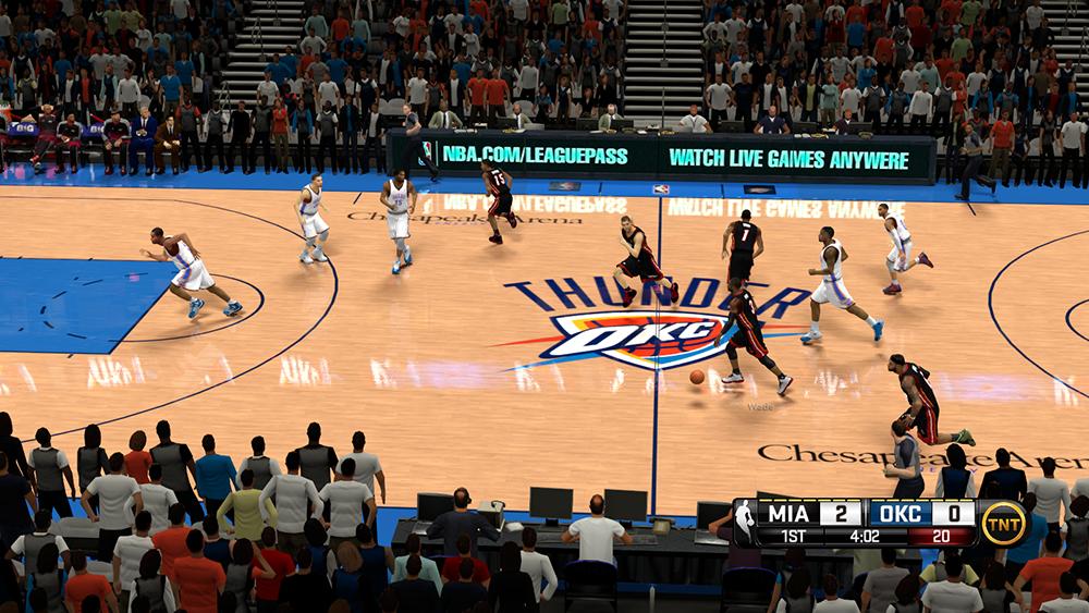 NBA2K PC Scoreboard Mod