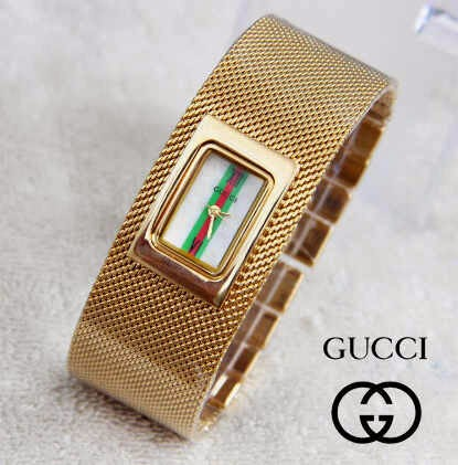 Gucci Pasir Stripe gold