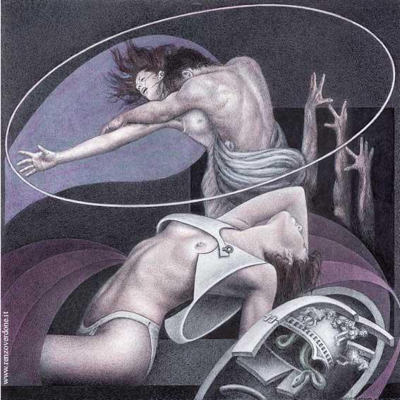 Renzo Verdone 1939 | Italian Symbolist painter