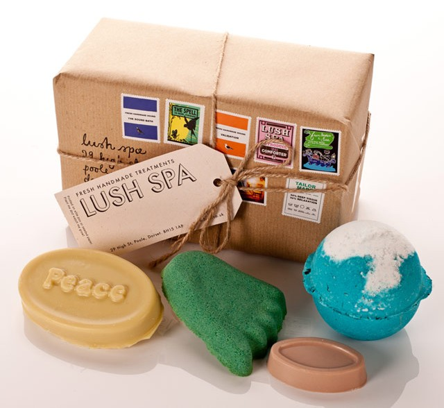 LUSH Spa Gift Box Review