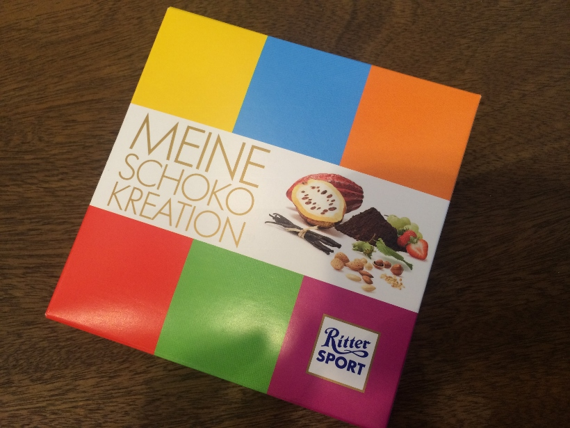 ritter sport chocolate making
