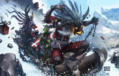 Santa Witch Doctor - Diablo III