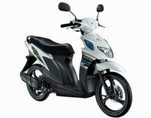 Motor Matic Suzuki Nex Two Tone