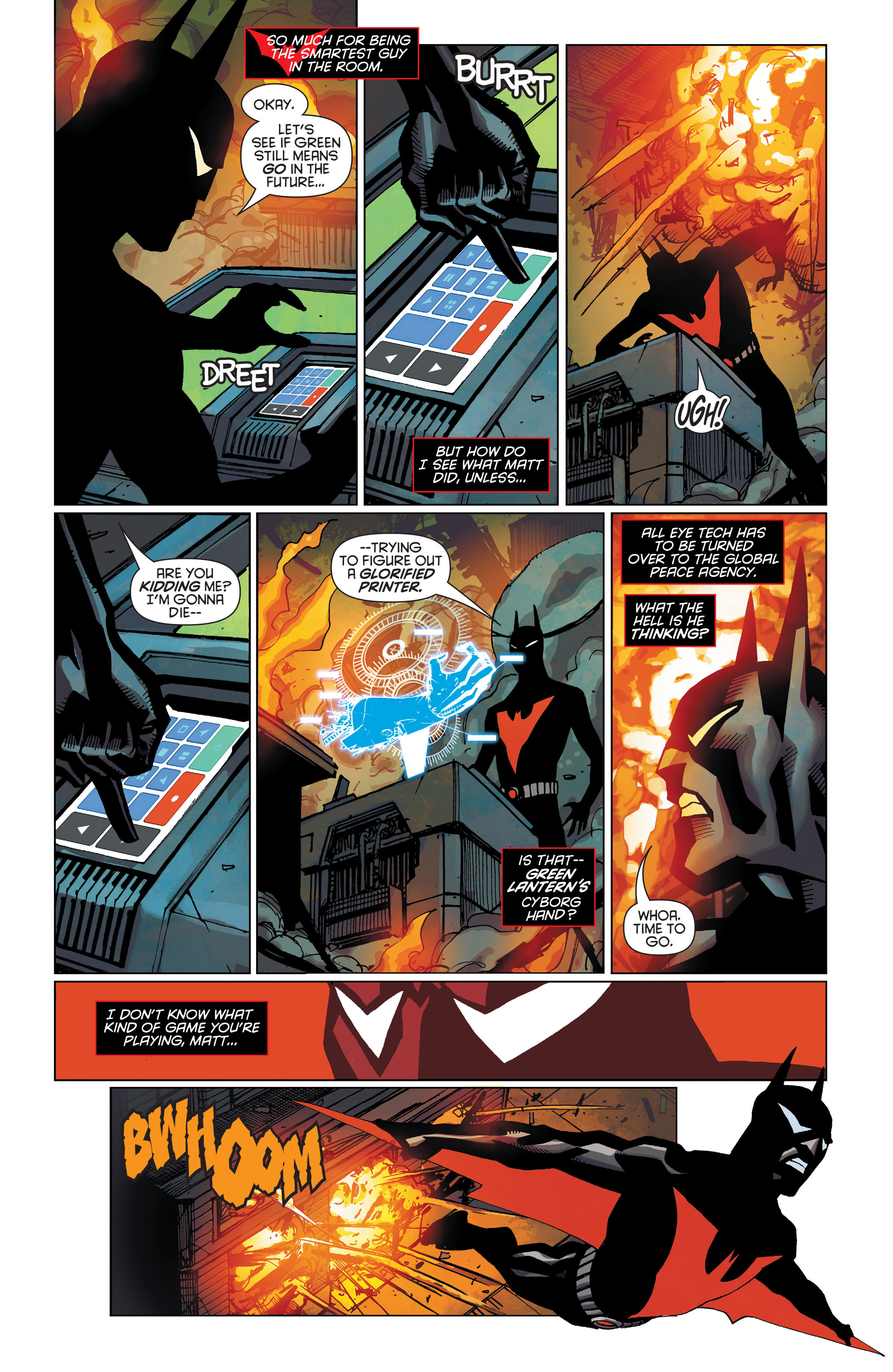 Batman Beyond (2015) Issue #8 #8 - English 7