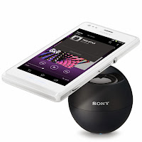 Sony Xperia M wire-less speakers