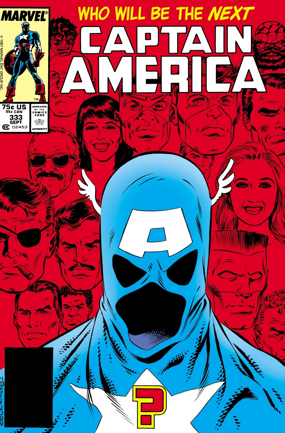 Captain America (1968) Issue #333 #262 - English 1