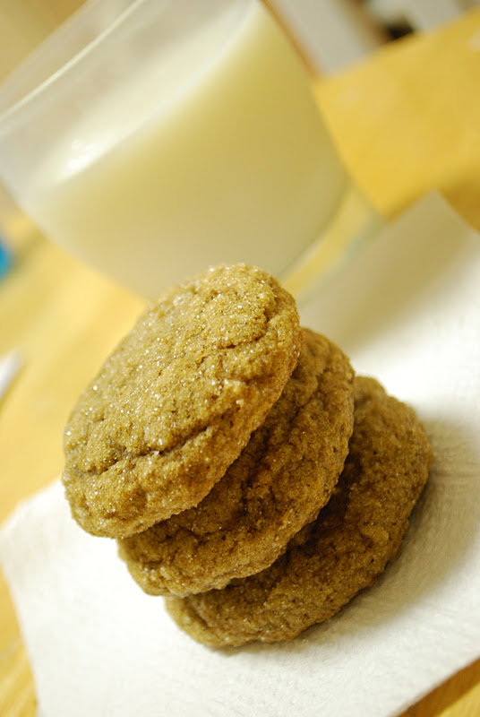 Simply Mangerchine: Pumpkin Gingersnap Cookies