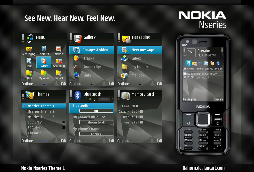Free Symbian Themes - Free S60 Nokia themes download the best S60 themes