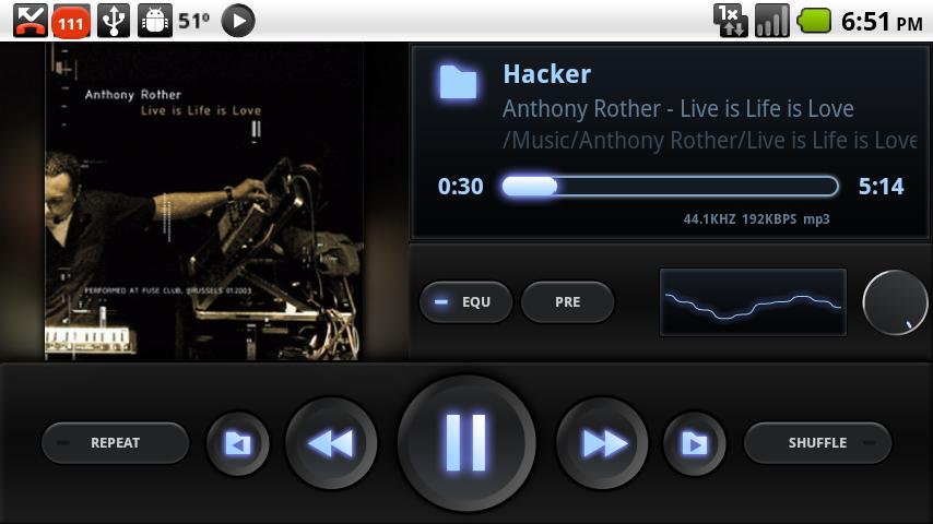 Как сделать музыкальный плеер для андроид