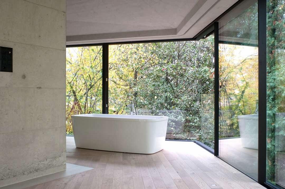 Interni Di Villa Savoye : Garden pavilion il padiglione in vetro e acciaio simile a villa