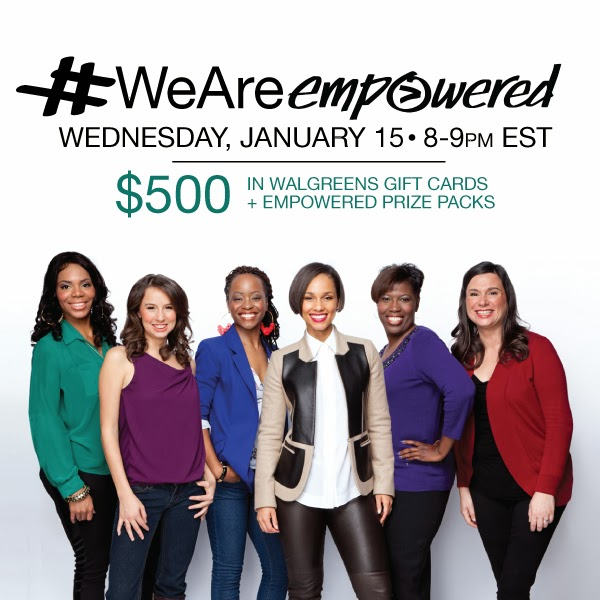 #WeAreEmpowered Twitter Party #cbias #shop