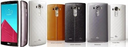LG lança G4, smartphone top com visual diferenciado e supercâmera