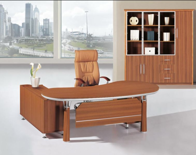 Furniture front new look executive tables for Latest office design