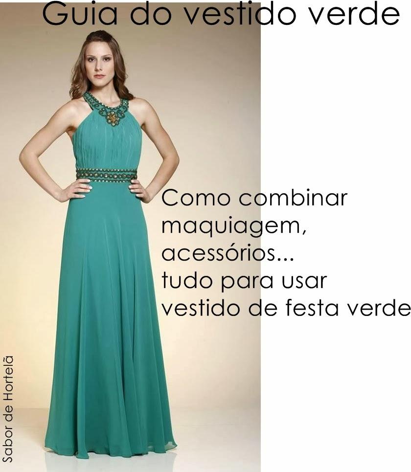 Vestido verde escuro como usar