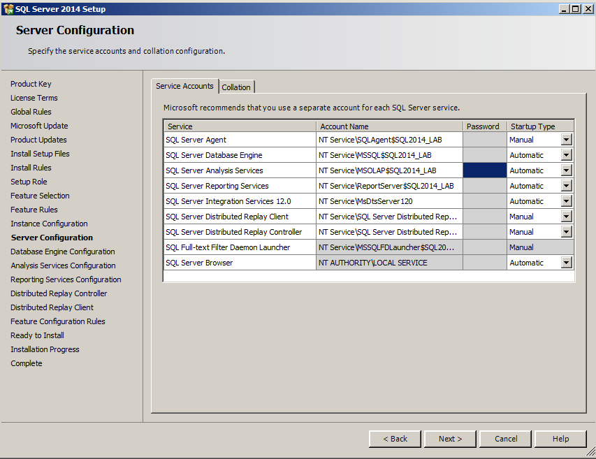 Sql lab manual array sql server dba installation of sql server 2014 rh dbasqlserver13 blogspot com fandeluxe Image collections