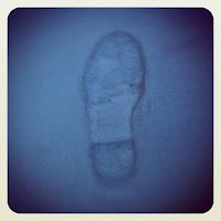 pas dans la neige