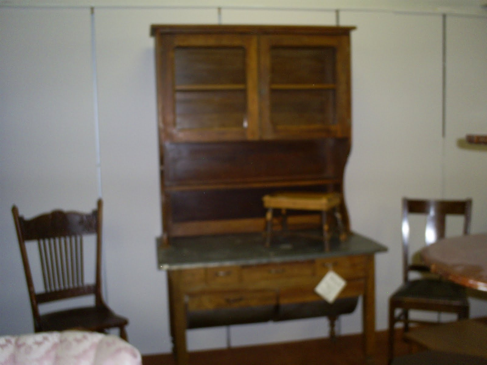 Antique Possum Belly Cabinet
