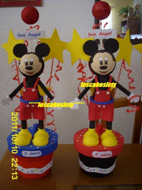 LOS CABOS LETY MANUALIDADES: fiesta tematica mickey mouse
