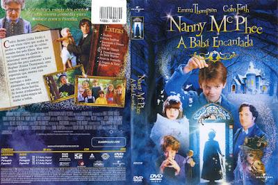 Filme Nanny McPhee - A Baba Encantada DVD Capa