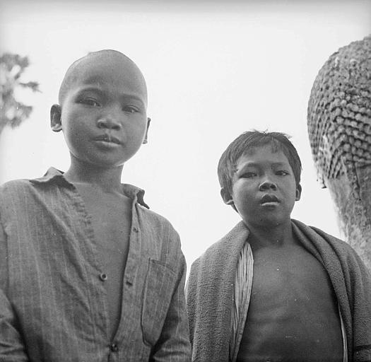 Enfants khmers
