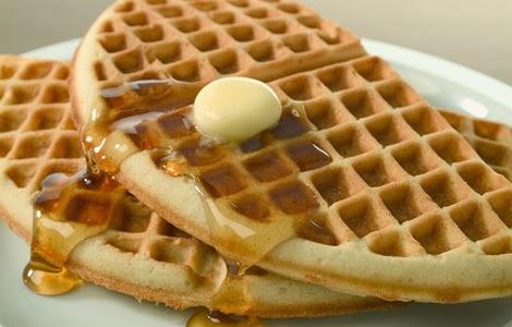 Receita de waffle!