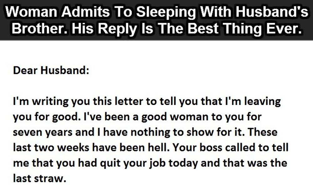 divorce letter