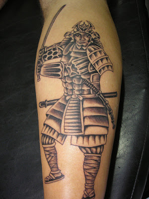 Tattoo de Samurai