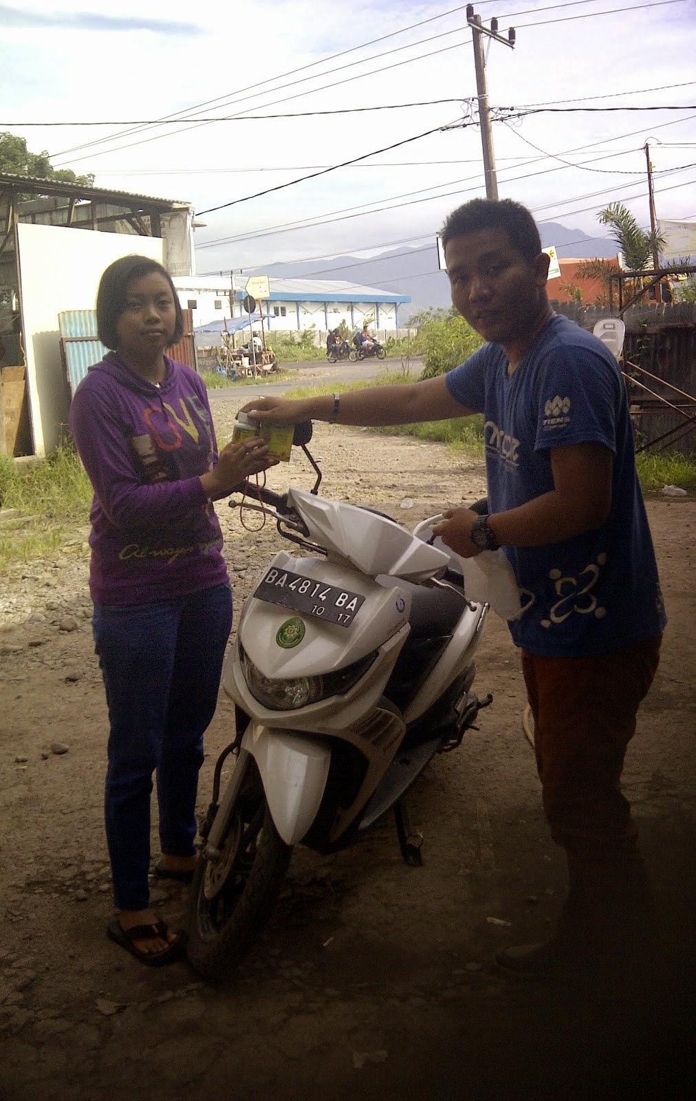 Kami punya reseller baru di Padang, Solok Selatan, Sangir, Kayu Aro, Padang Aro